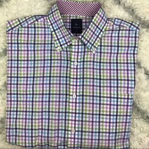 Tailorbyrd long sleeve casual button down shirt